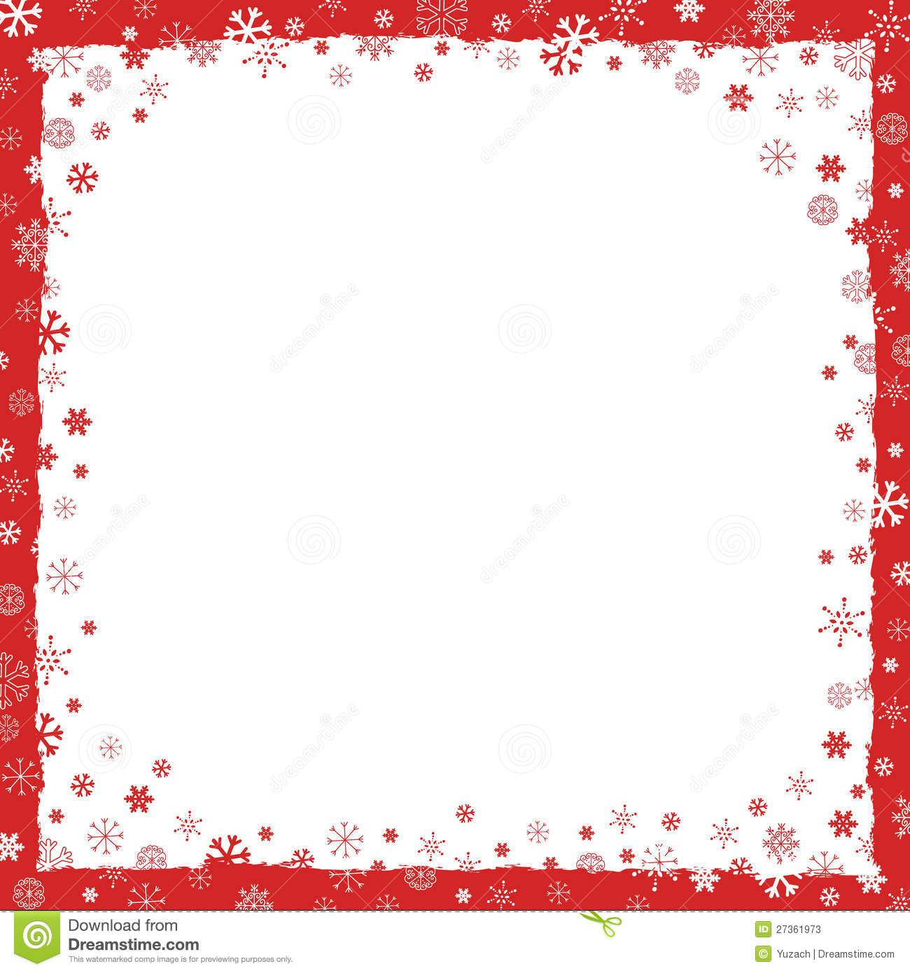 new year christmas background with border