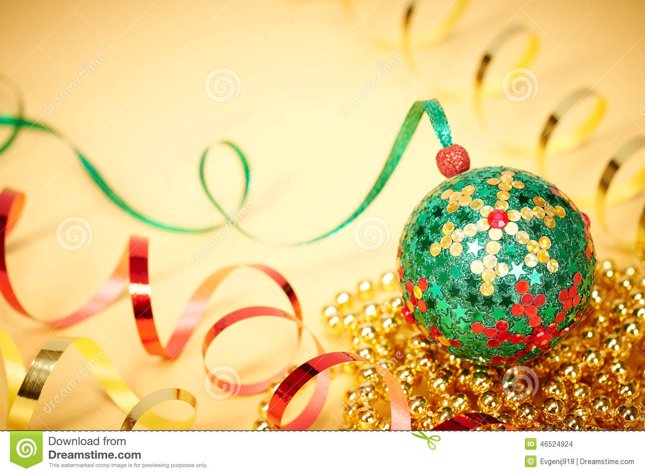colorful new year decoration - photo #16