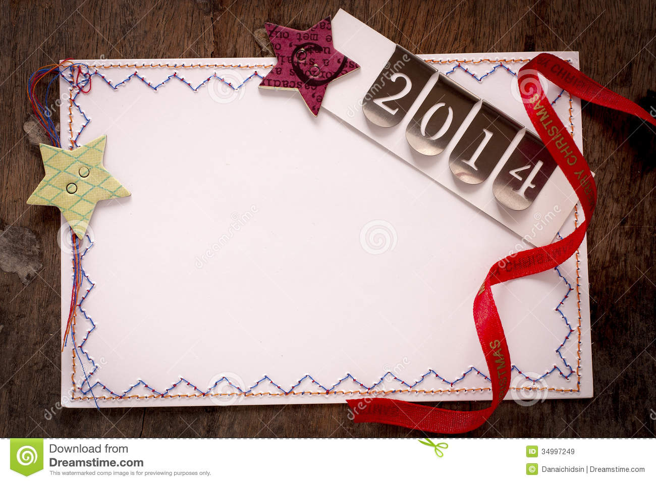 New Year And Christmas Greeting Cards Stock Image Image Of Holiday