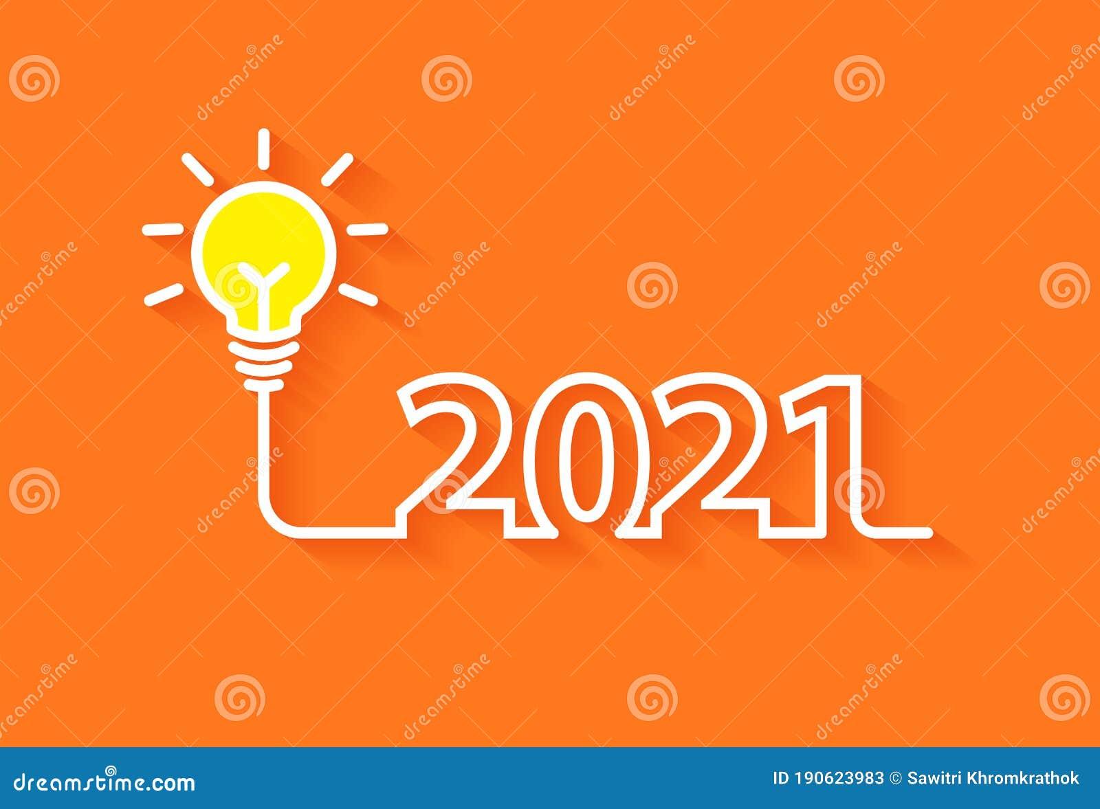 2021 New Year Creativity Lightbulb Inspiration Ideas ...
