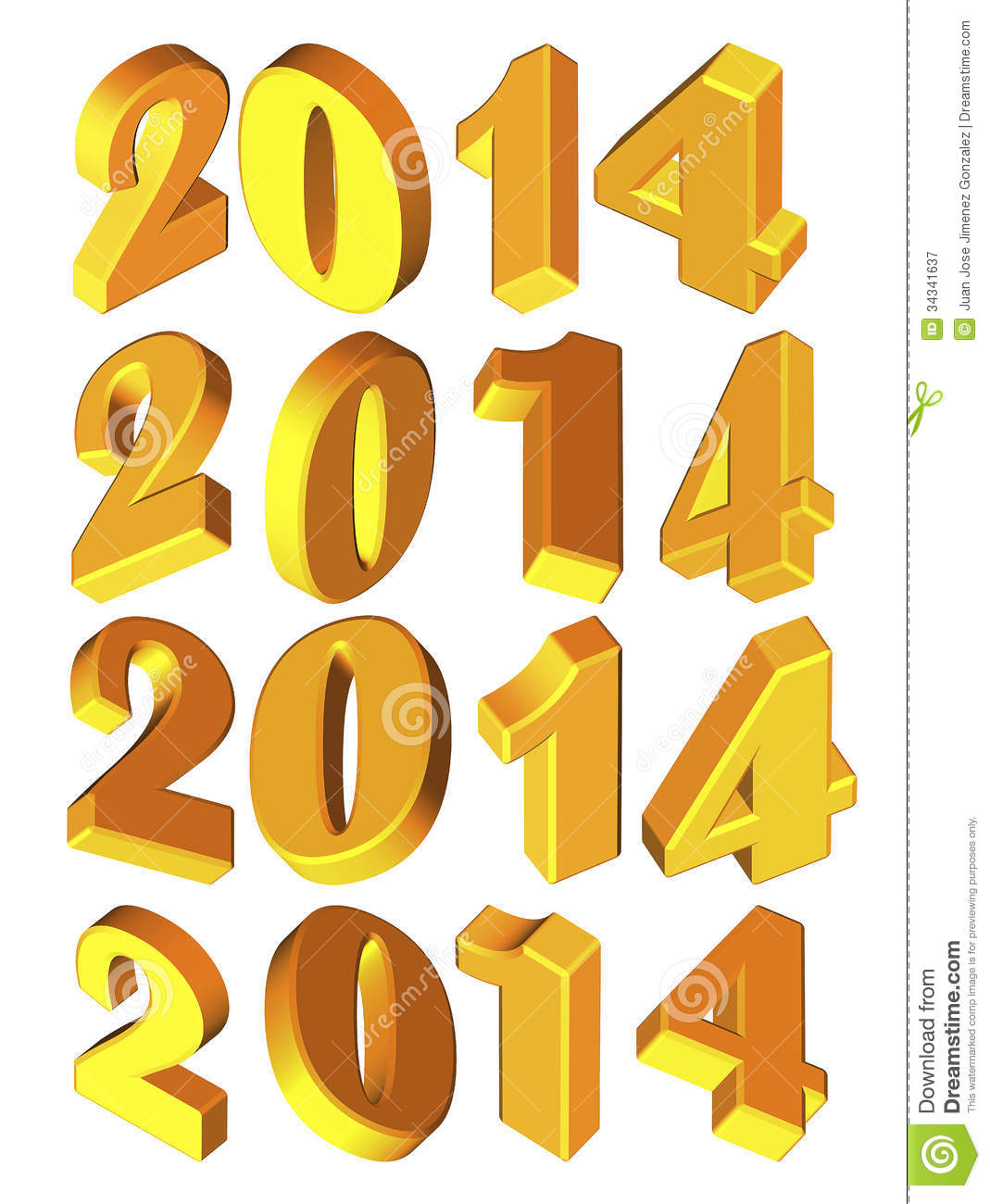 Happy New Year Stock Vectors Clipart and Illustrations