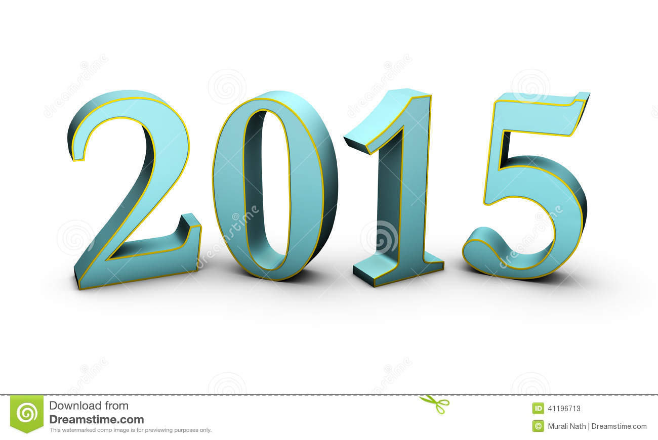 Happy New Year 2015 Stock Photo - Image: 41769585