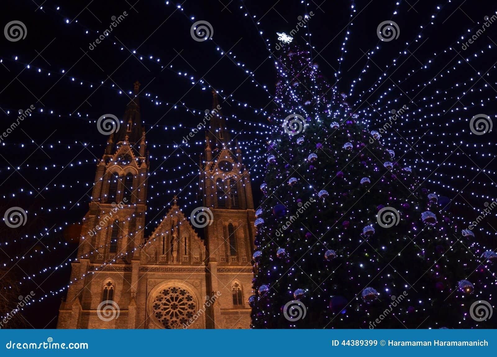 New year eve decoration stock image. Image of garland ...