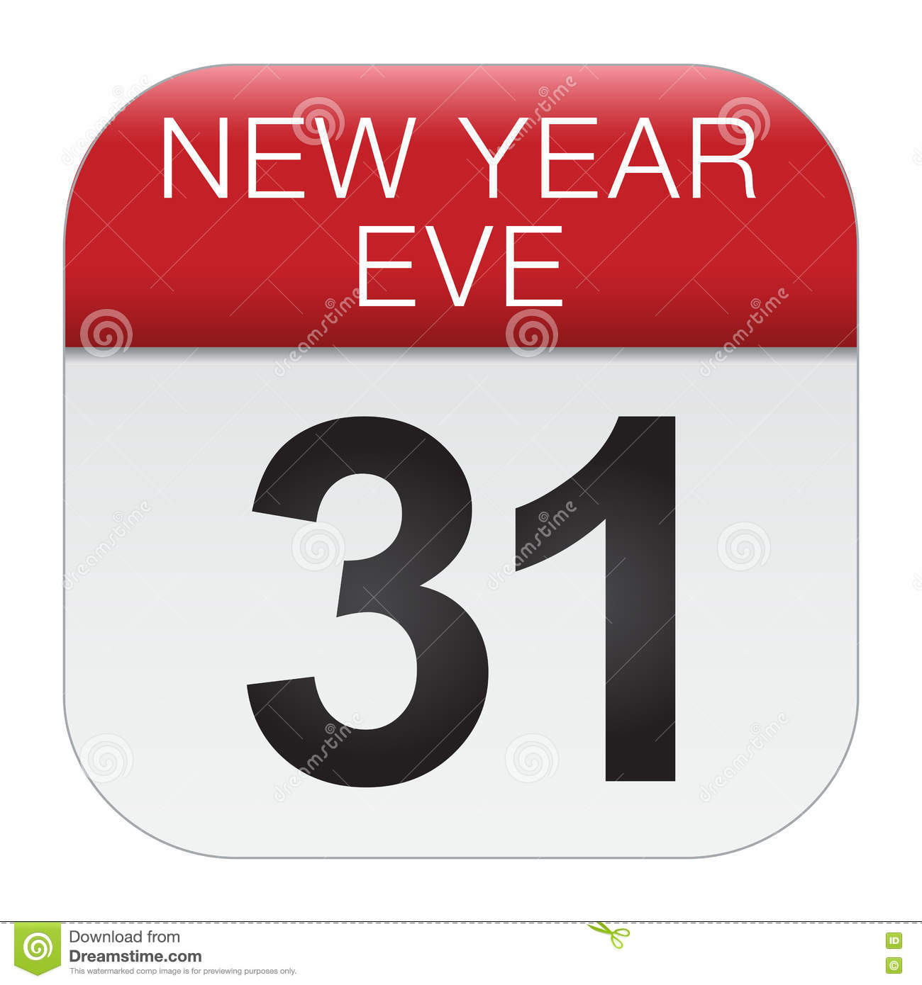 new year eve vector design