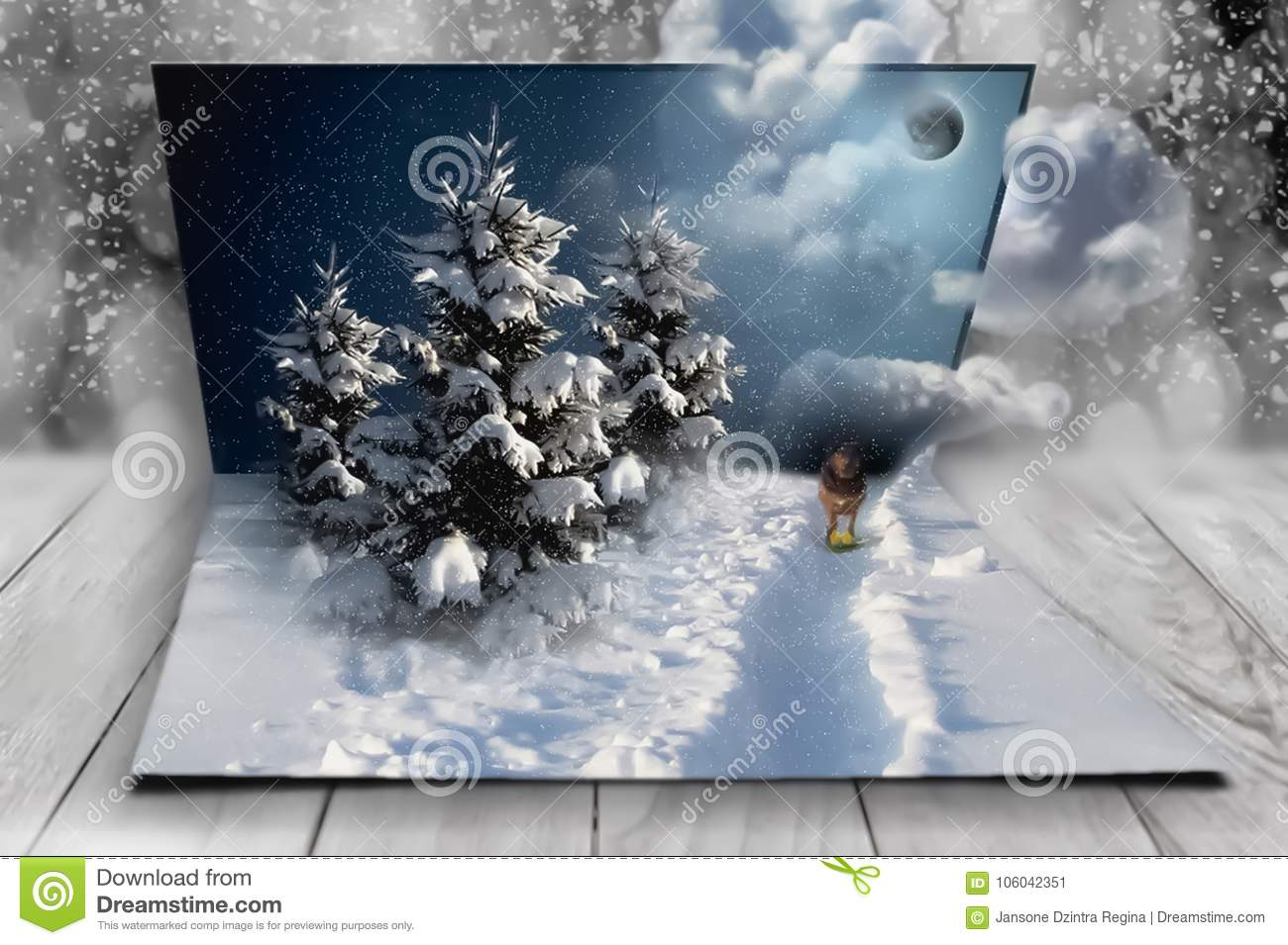New year fantasy in my sweet dreams christmas stock illustration greetings to friends and relatives for you new year fantasy in my sweet dreams christmas m4hsunfo