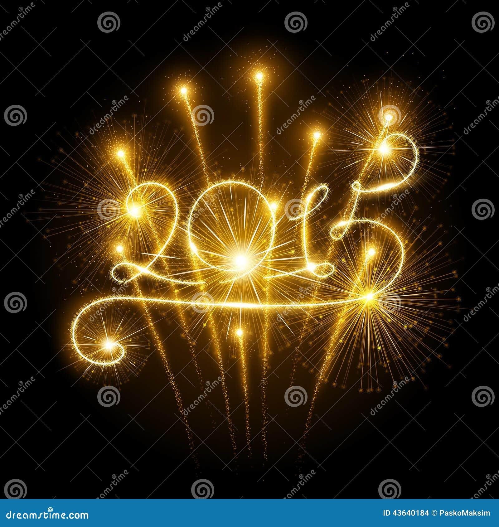 New Year 2015 fireworks