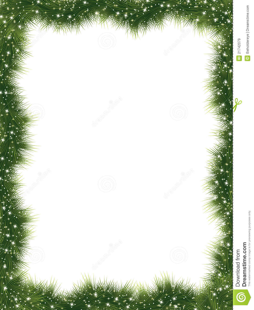 New Year Frame With Copy Space. EPS 8 Stock Vector - Illustration of ...