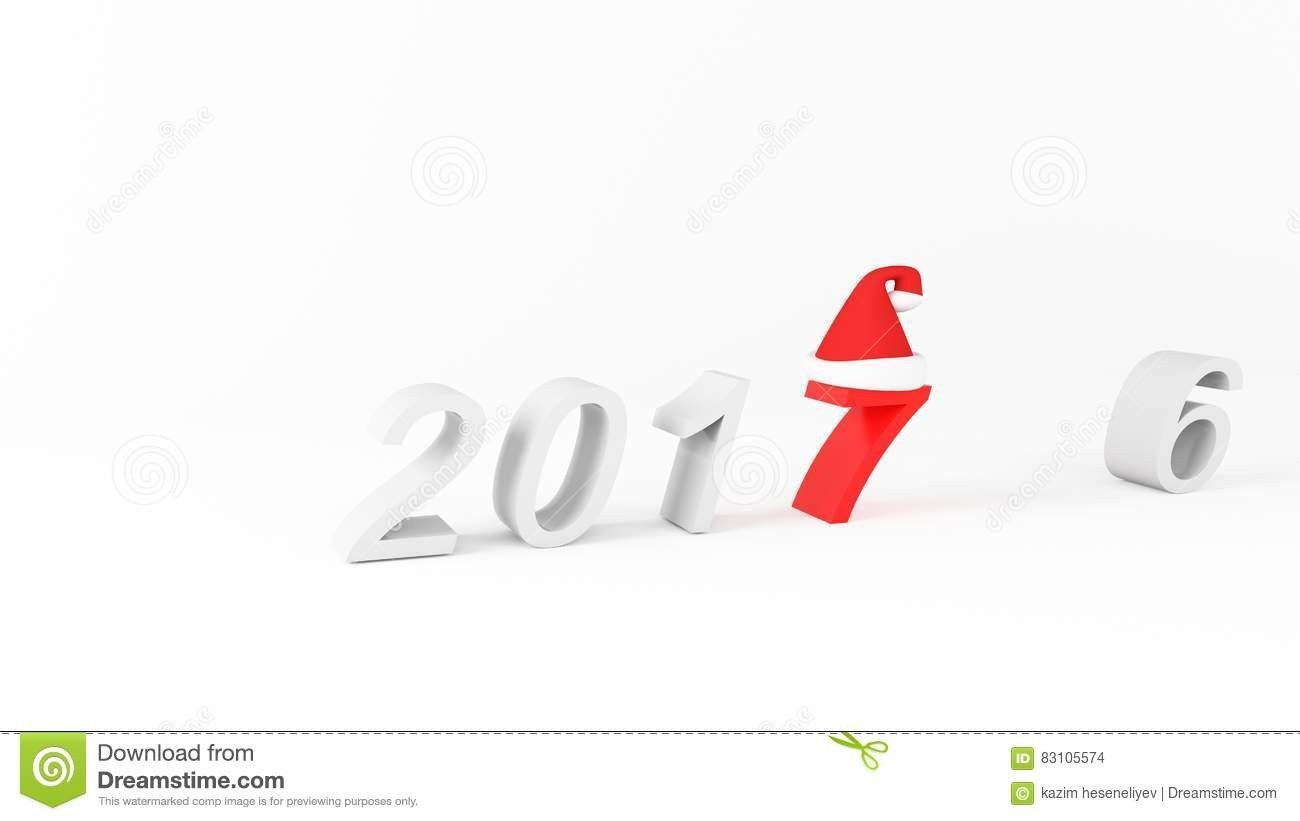 2016 new year change concept stock image