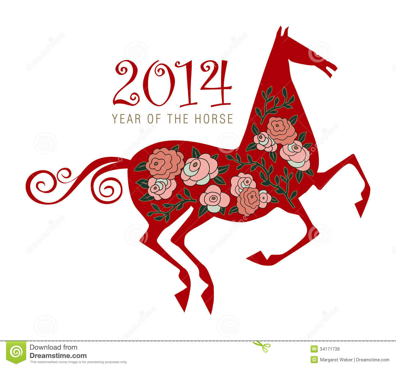 Horse chinese new year symbol stock vector illustration of year horse chinese new year symbol royalty free stock images buycottarizona Gallery