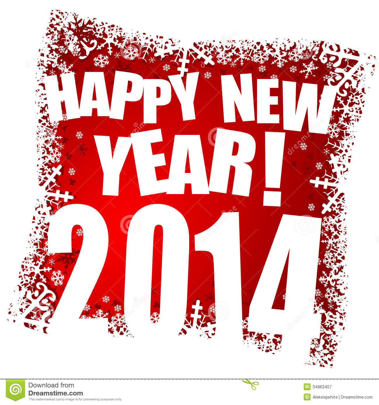 New Year 2014 Stock Photography  Image 34288242