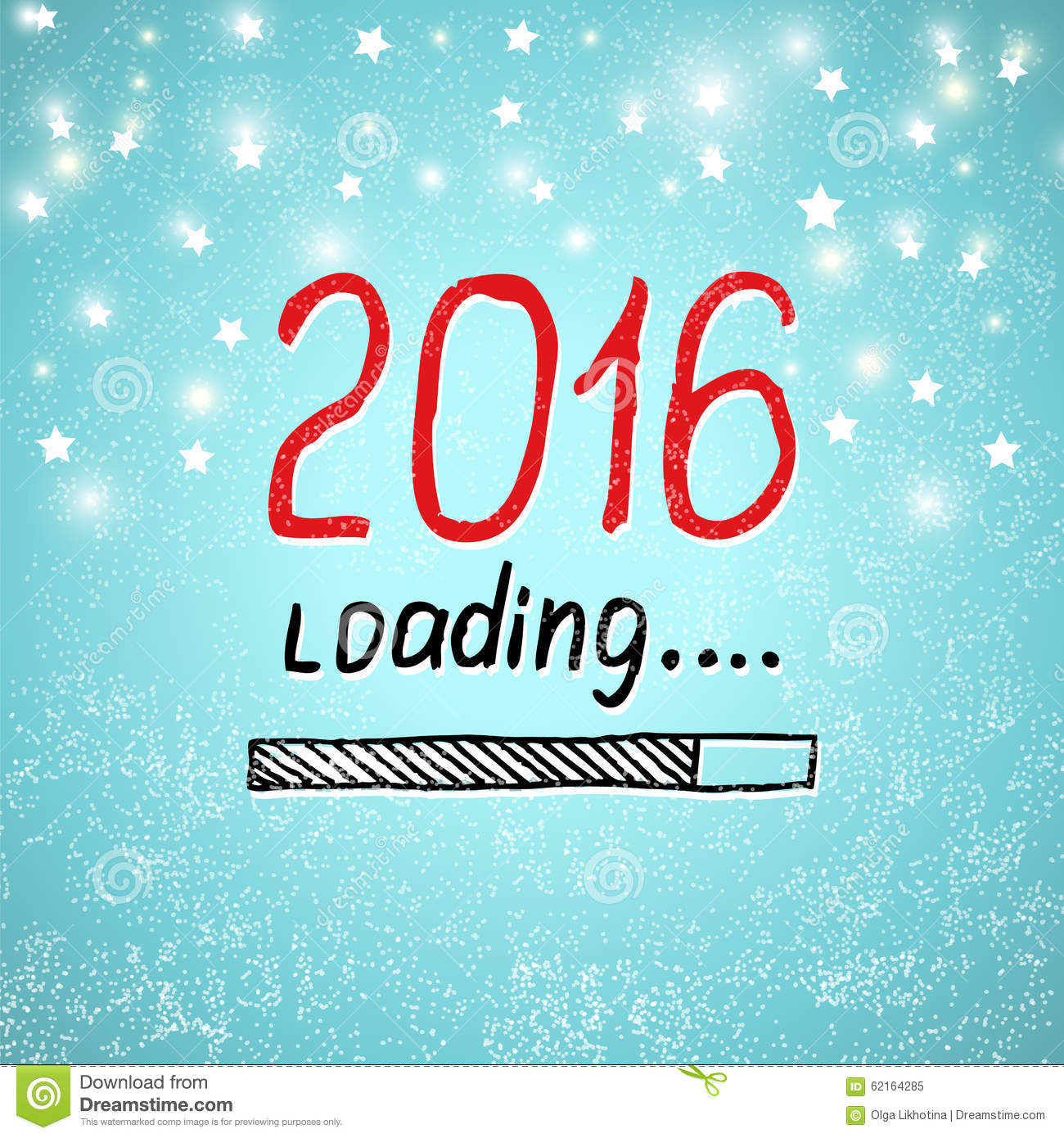 new year is loading holiday concept vector royalty free stock photo