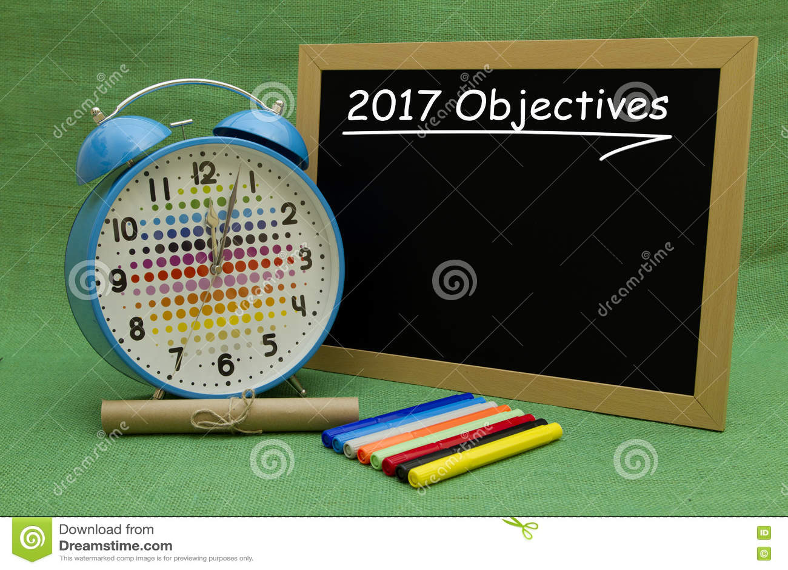 2017 New Year Objectives. Stock Photo - Image: 79173375