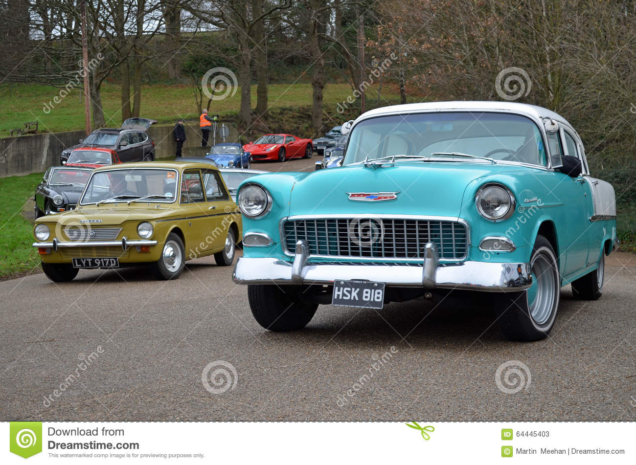 2016 New Year\'s Day Gathering Of Classic Car\'s At Brooklands ...