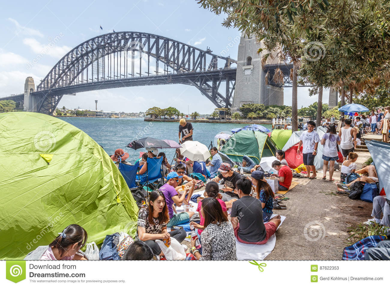 New Year`s Eve at Sydney Harbour