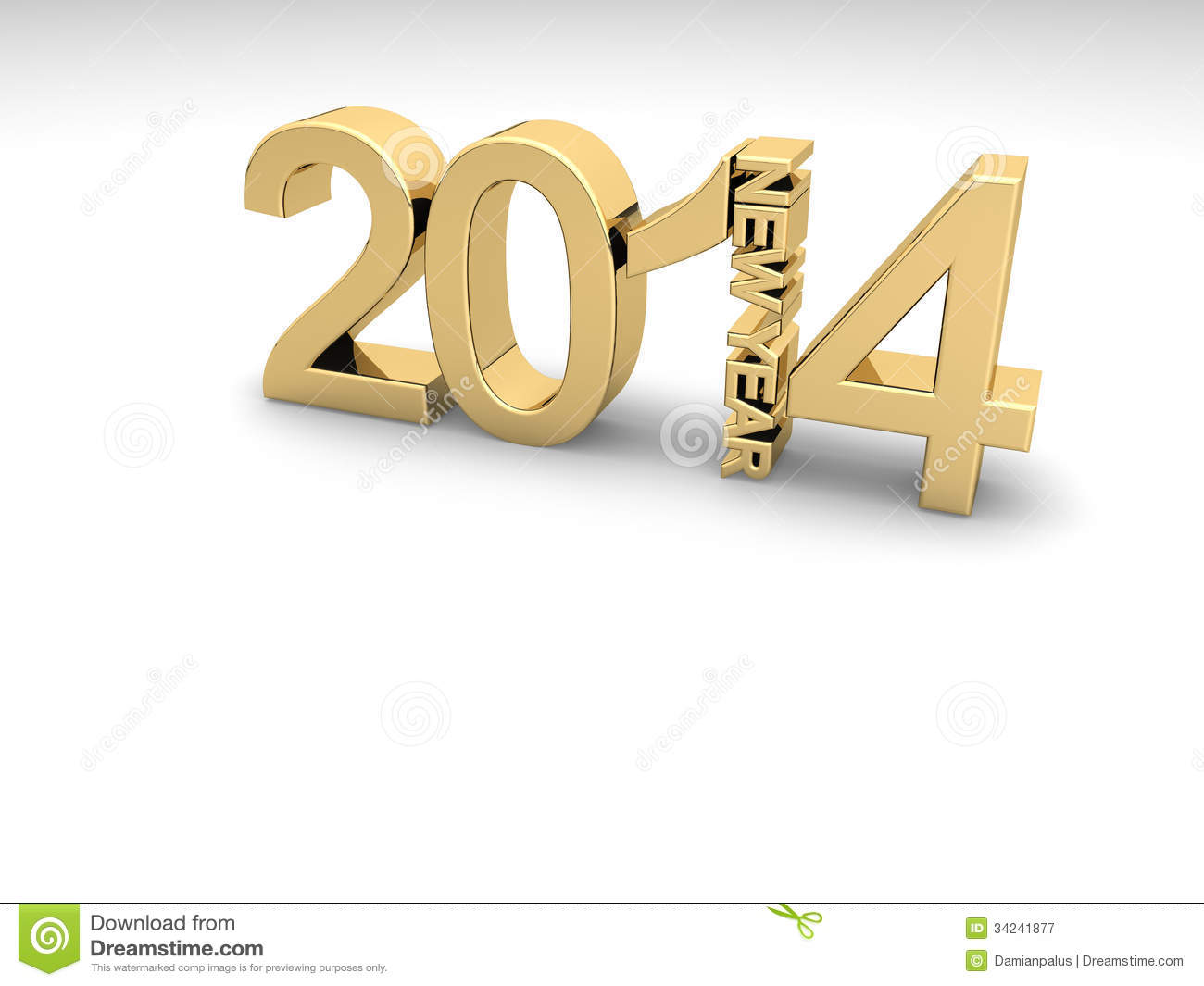 Happy new year 2014 Illustrations and Stock Art 6243
