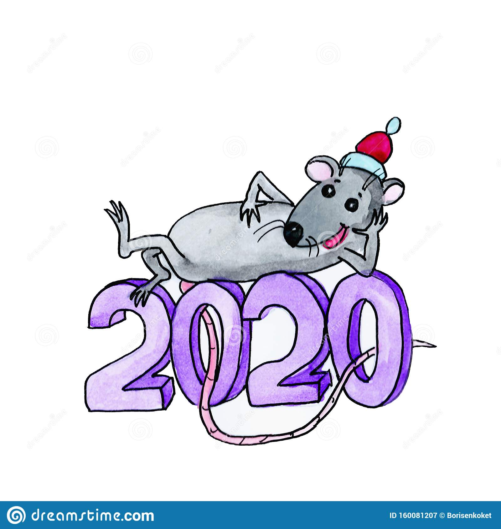 New Year S Rat The Symbol Of 2020 On The Chinese Calendar Lies