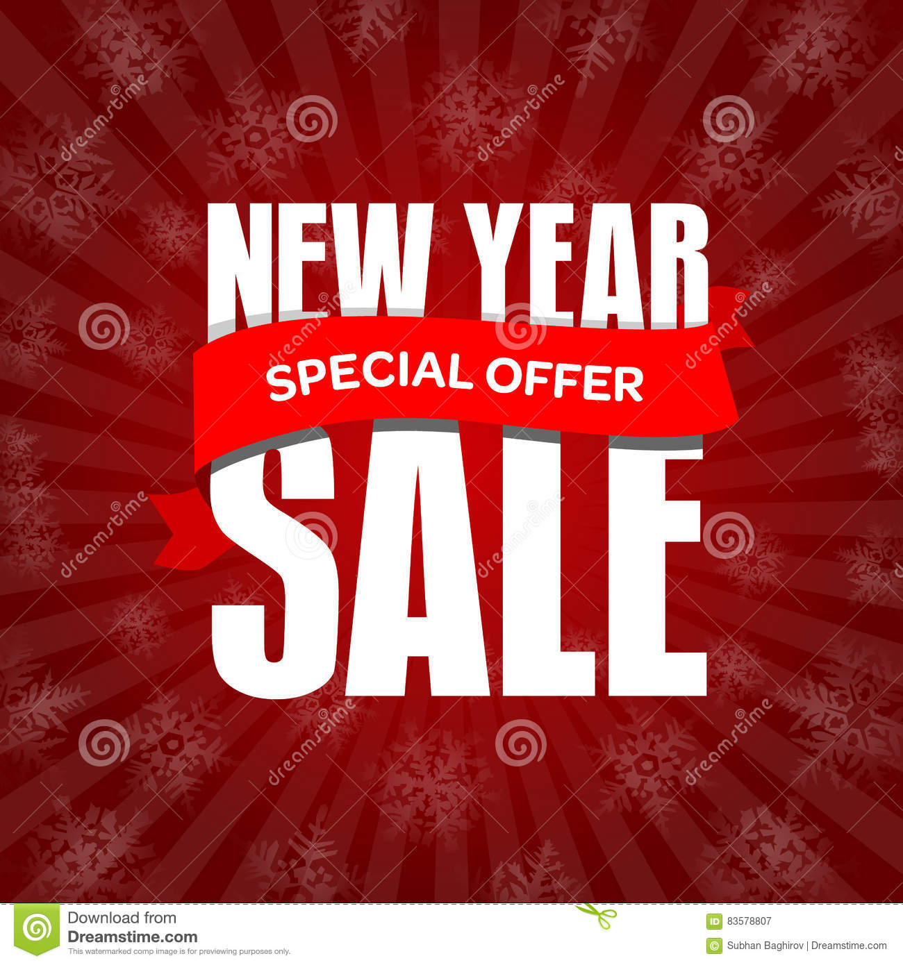 new year sale badge label promo banner template special offer