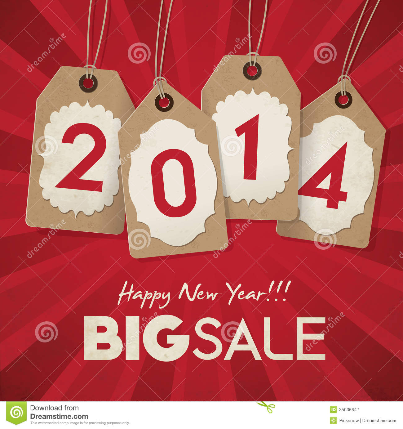 Sale: New Year Sale Stock Vector. Image Of Purchase, Event