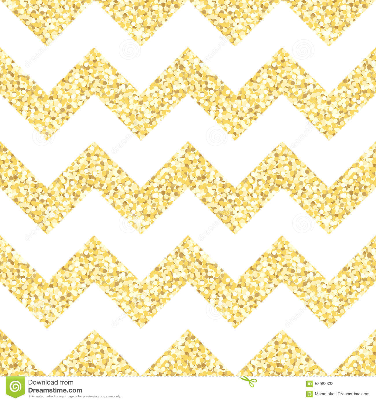 gold glitter chevron wallpaper