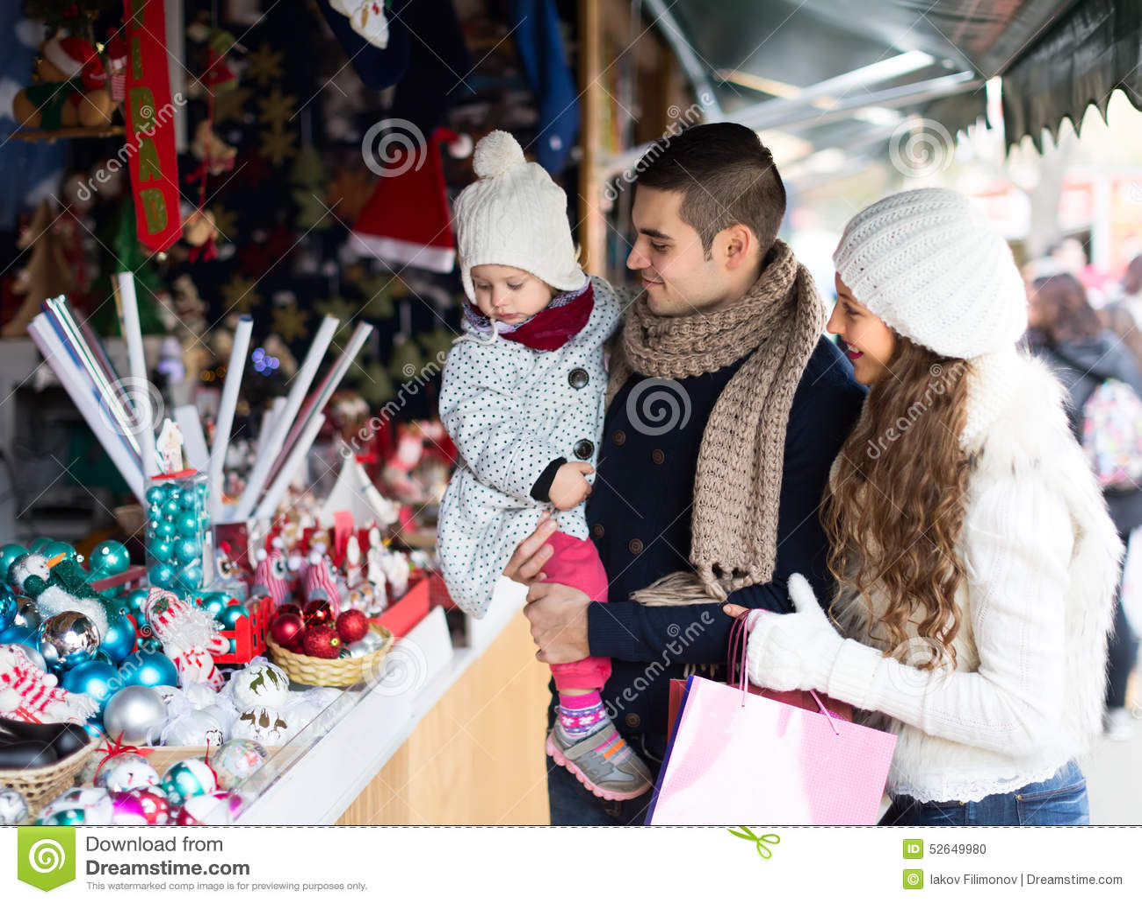 New Year Shopping Stock Photo Image 52649980