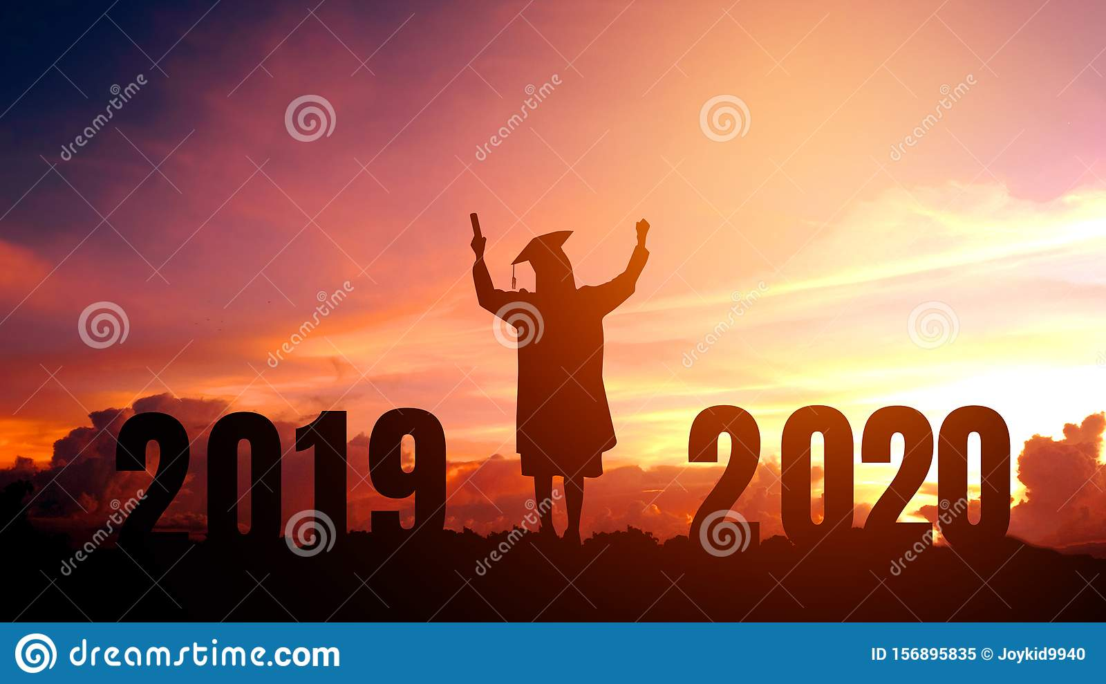 Happy Graduation 2020.2020 New Year Silhouette People Graduation In 2020 Years