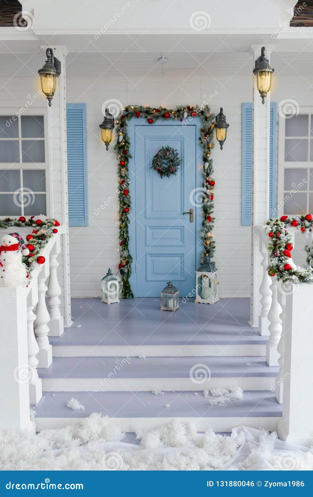 New Year Sweet Home Interior Design Decoration Stock Photo ...