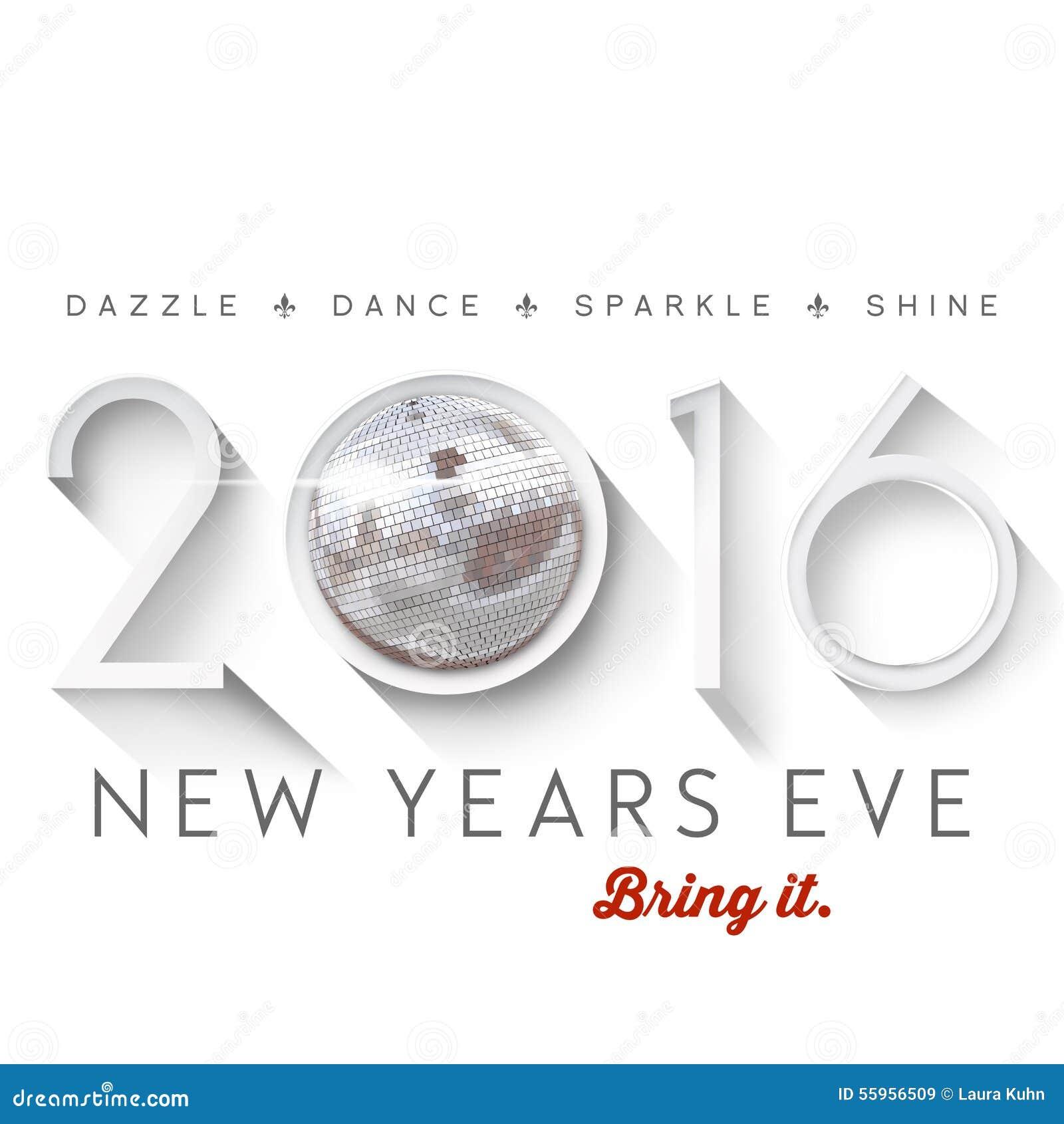 2016 New Years Eve stock illustration. Illustration of create - 55956509
