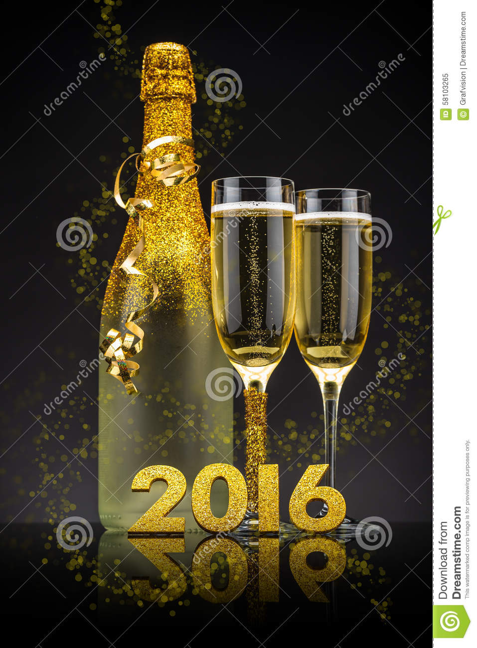 2016 New Years Eve Stock Photo - Image: 58103265