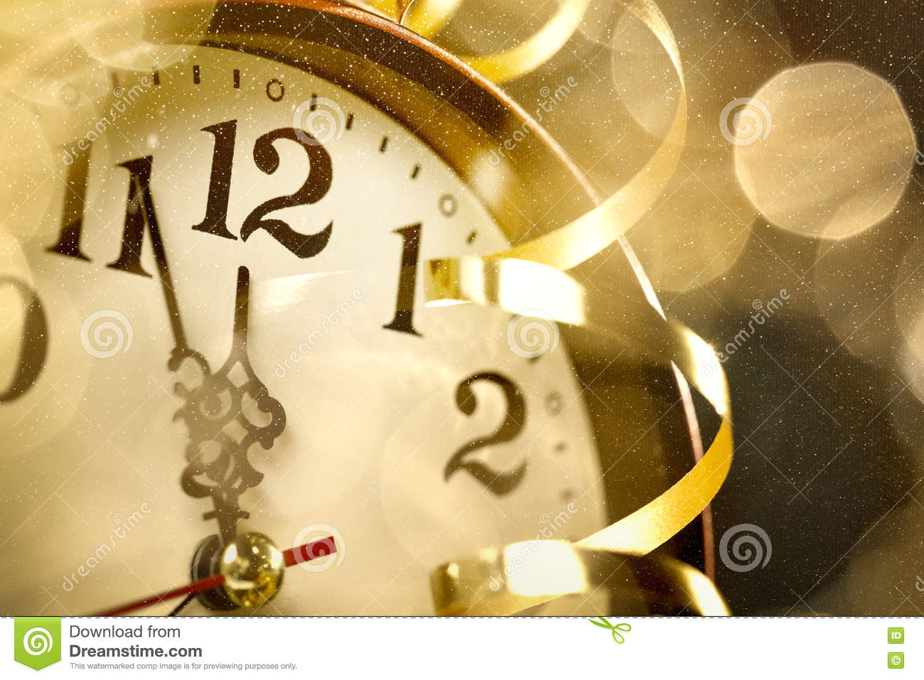New Years Eve Countdown Clock