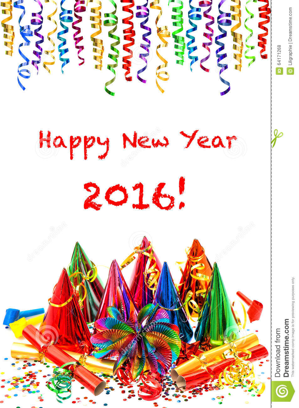 colorful new year decoration - photo #30