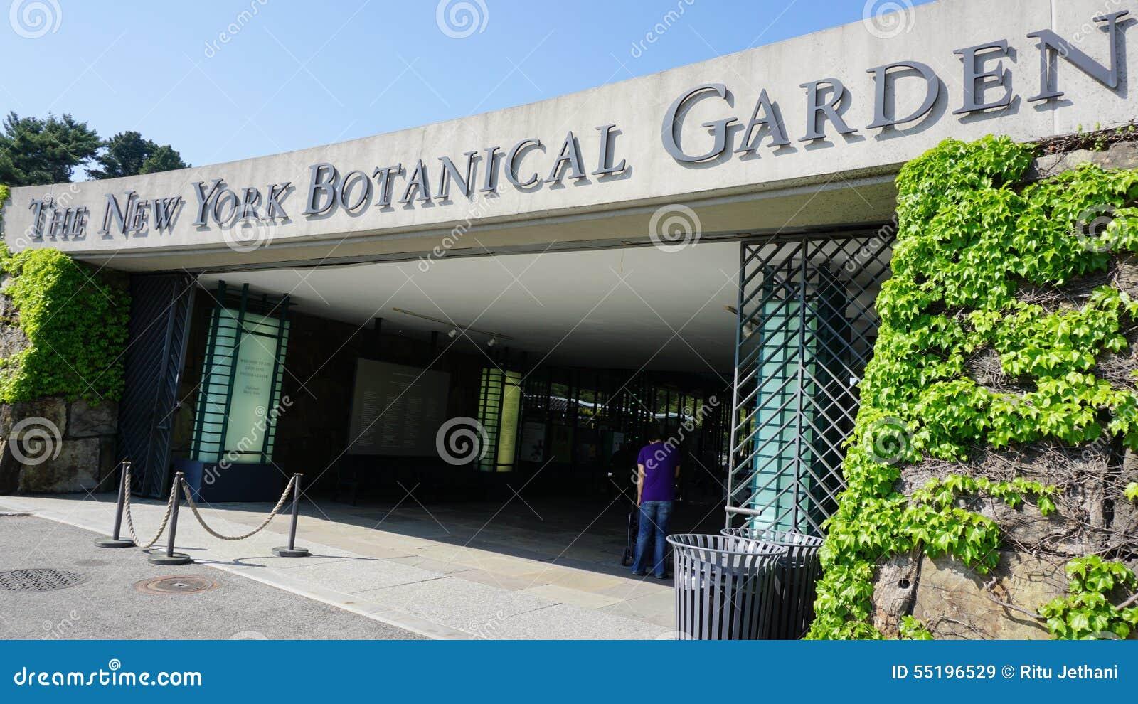 The New York Botanical Garden In Bronx New York Editorial