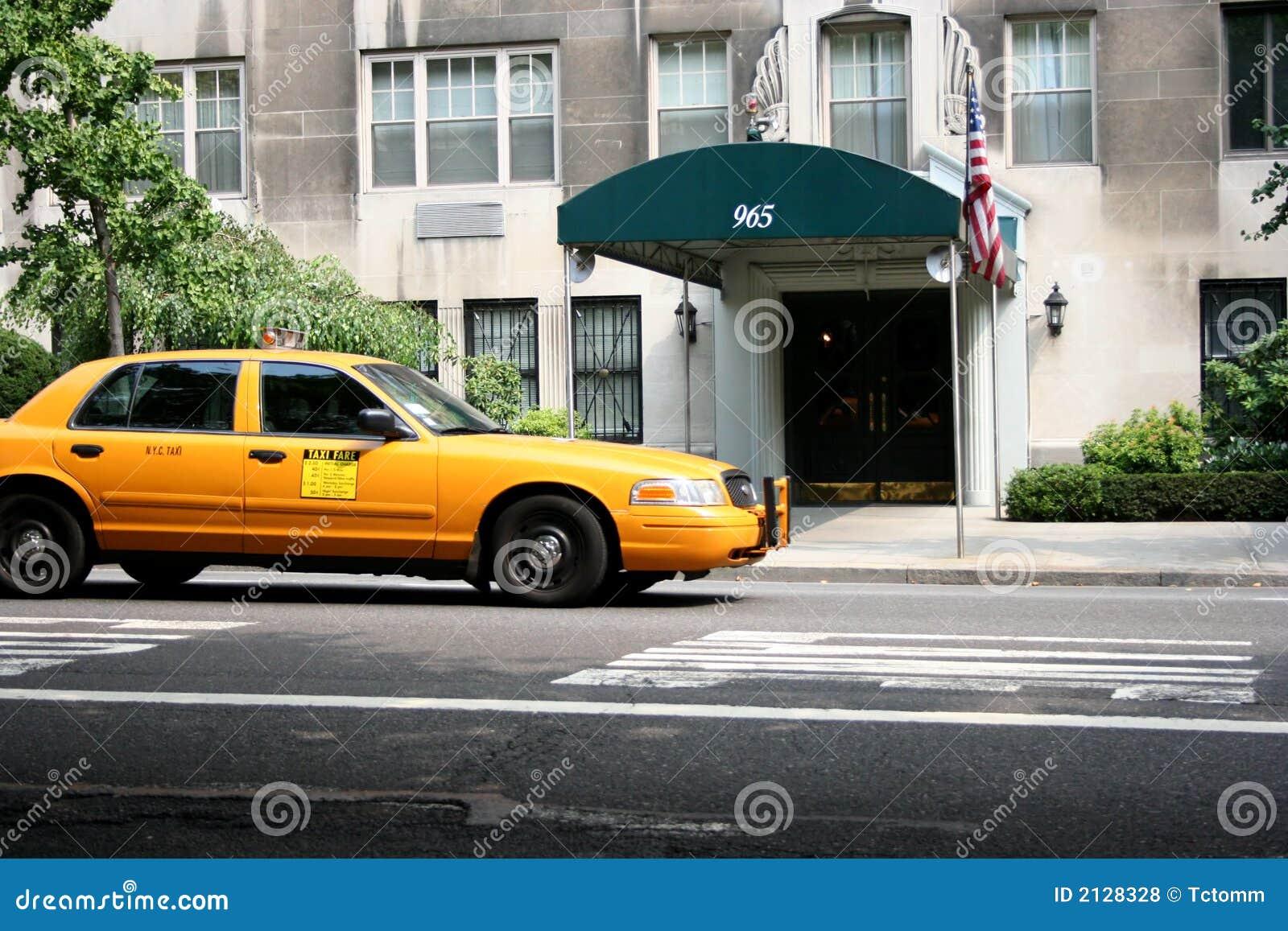 Taxi Cab Food Truck