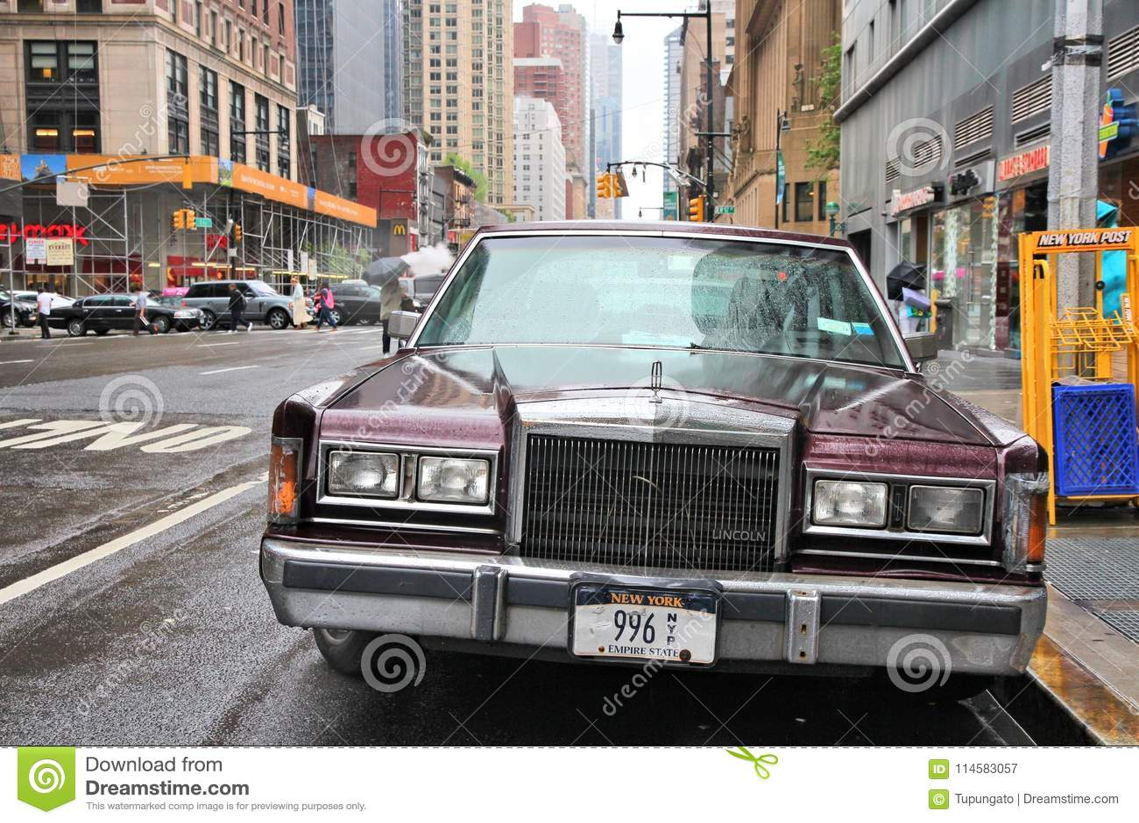New York Car Editorial Photography Image Of Manhattan 114583057