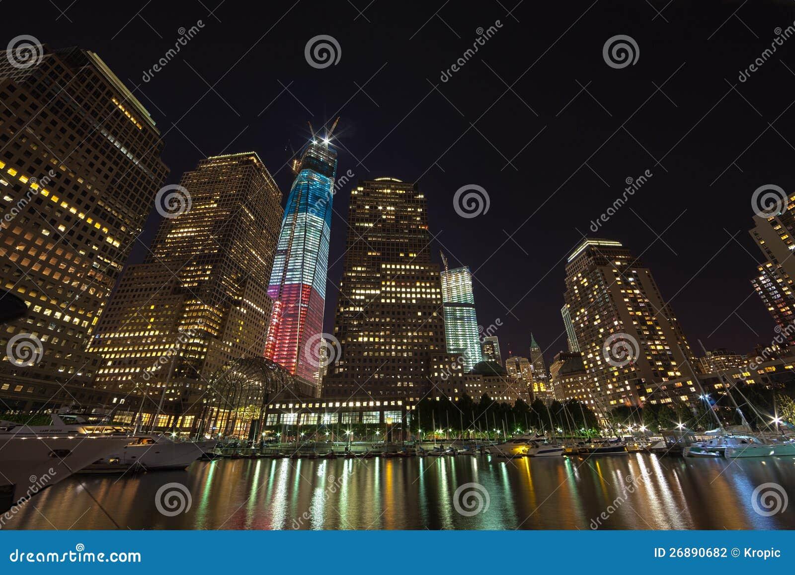 NEW YORK CITY - 17 SEPTEMBRE : World Trade Center