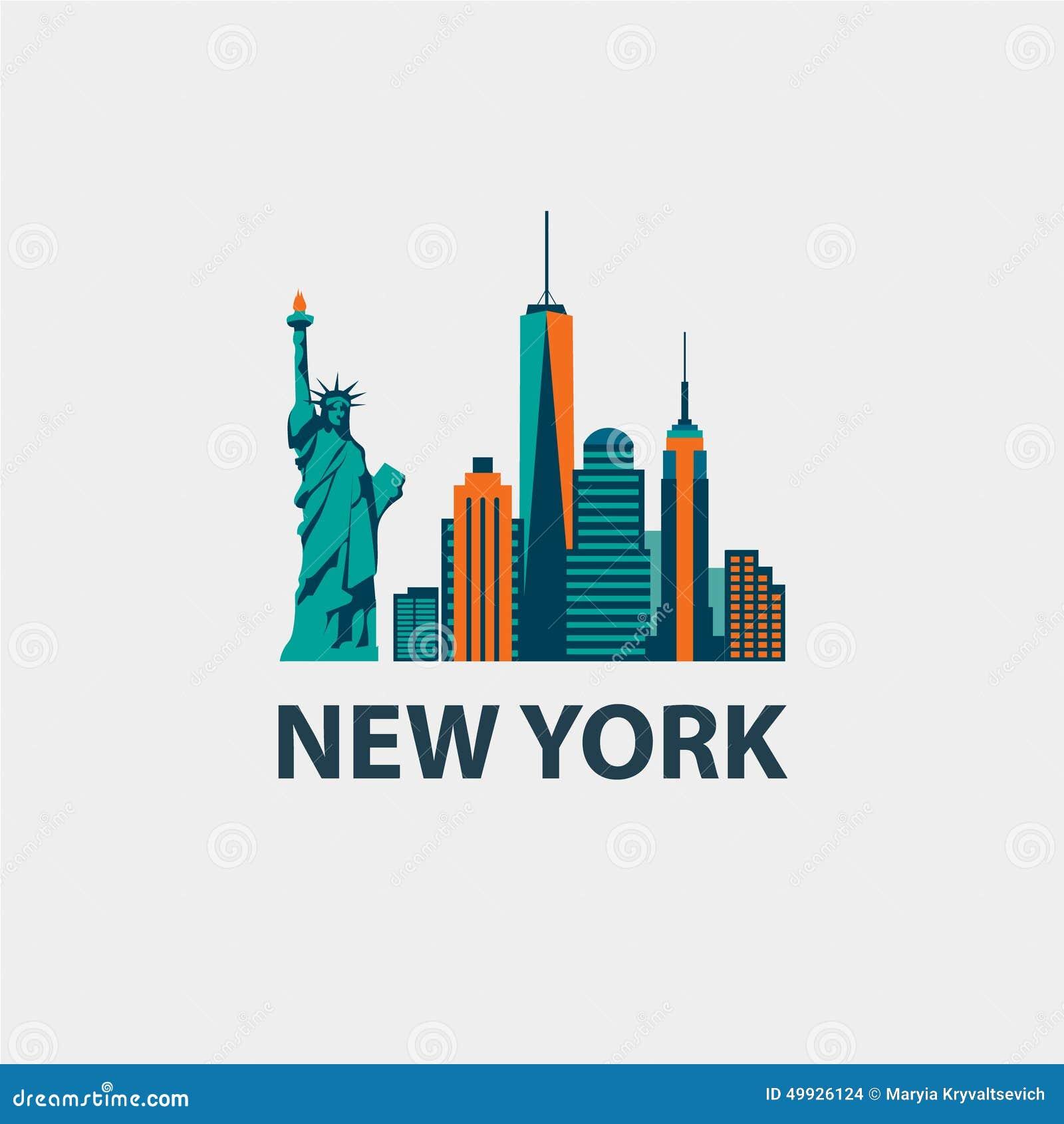New York City Architecture Retro Vector Stock Vector Illustration Of Metropolis Office 49926124