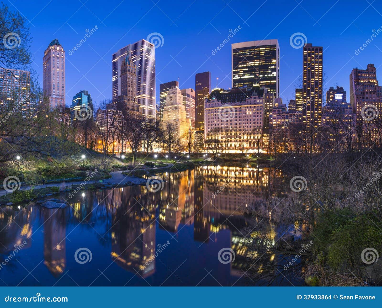 New York City Central Park South Skyline