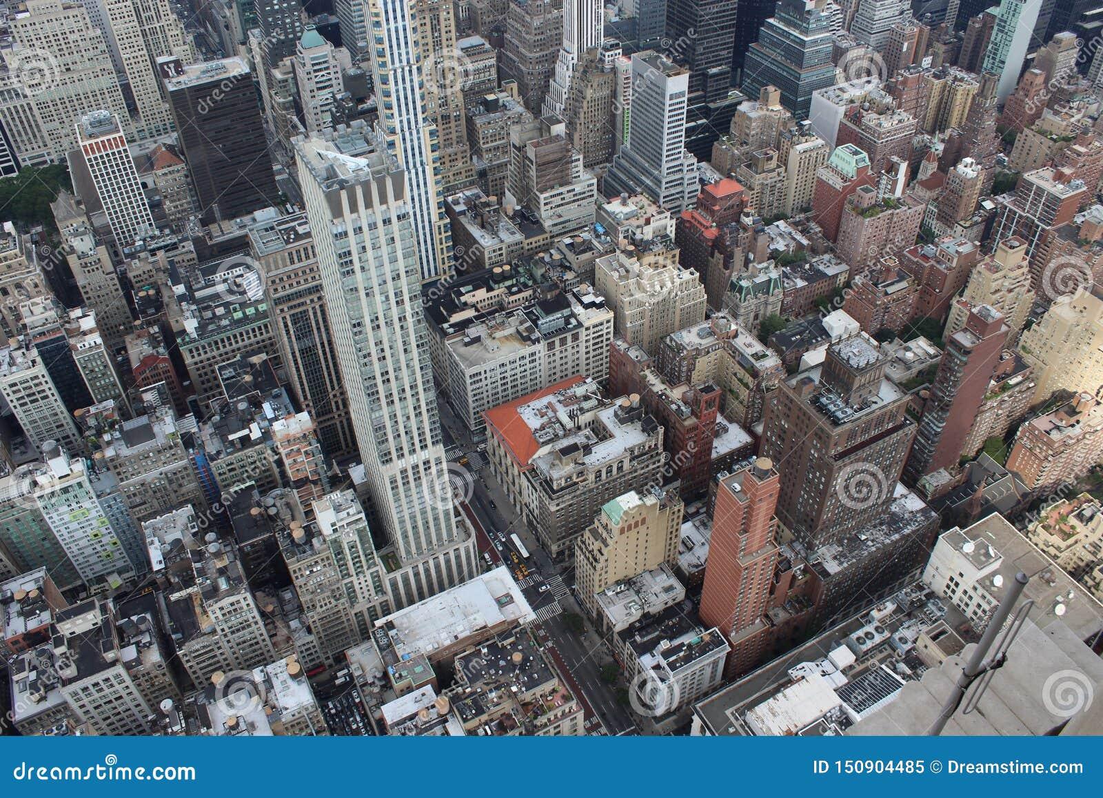 New York City de acima