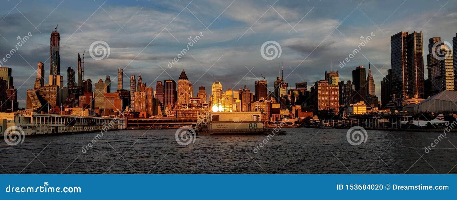 New York City do lado de New-jersey