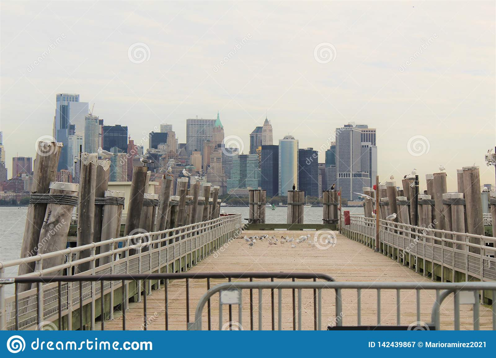 New York City dock
