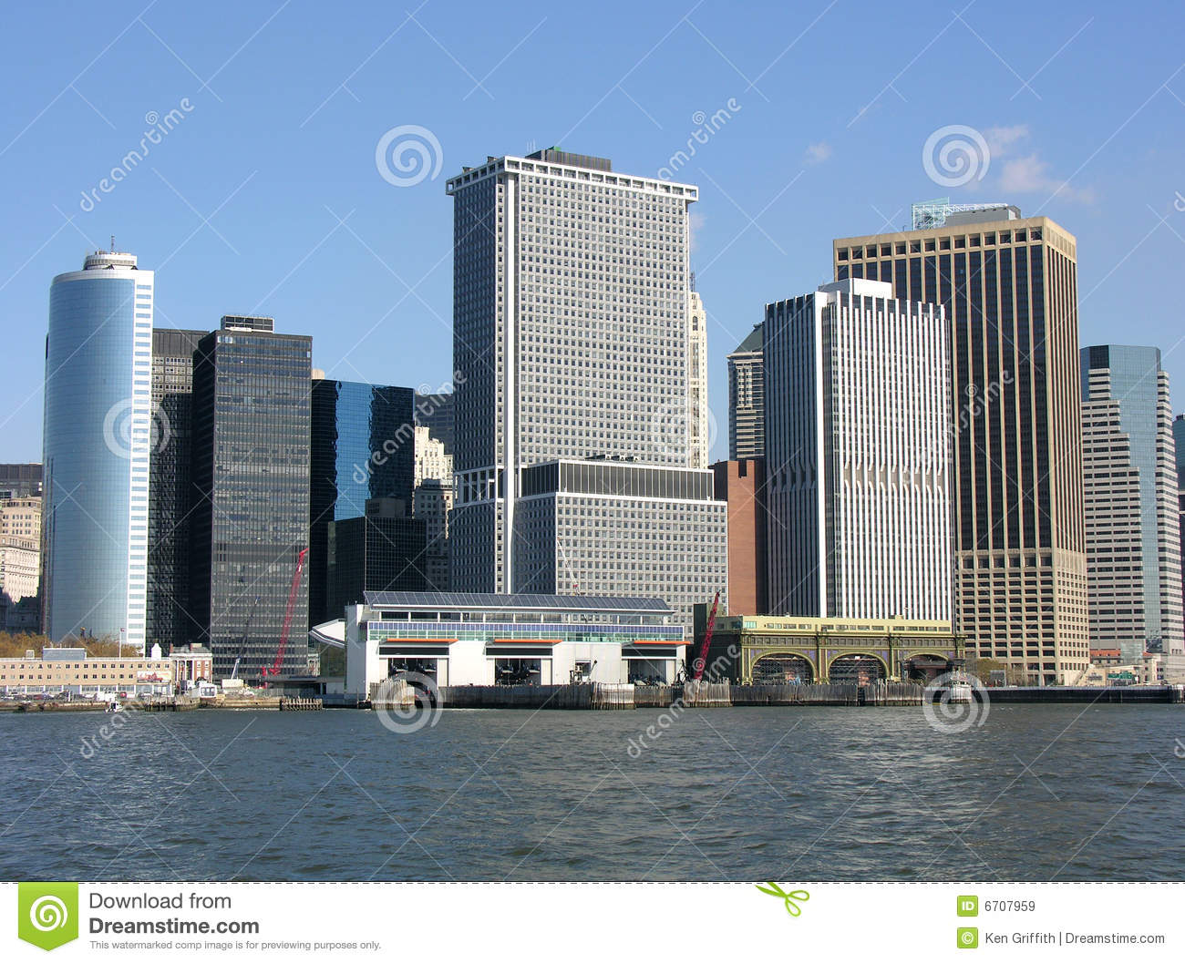 New York City Financial District Royalty Free Stock Images Image 6707959