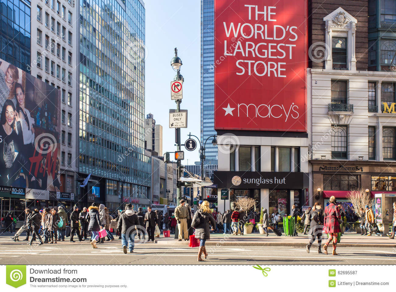 New york city macys editorial photography image of for Home holidays new york manhattan