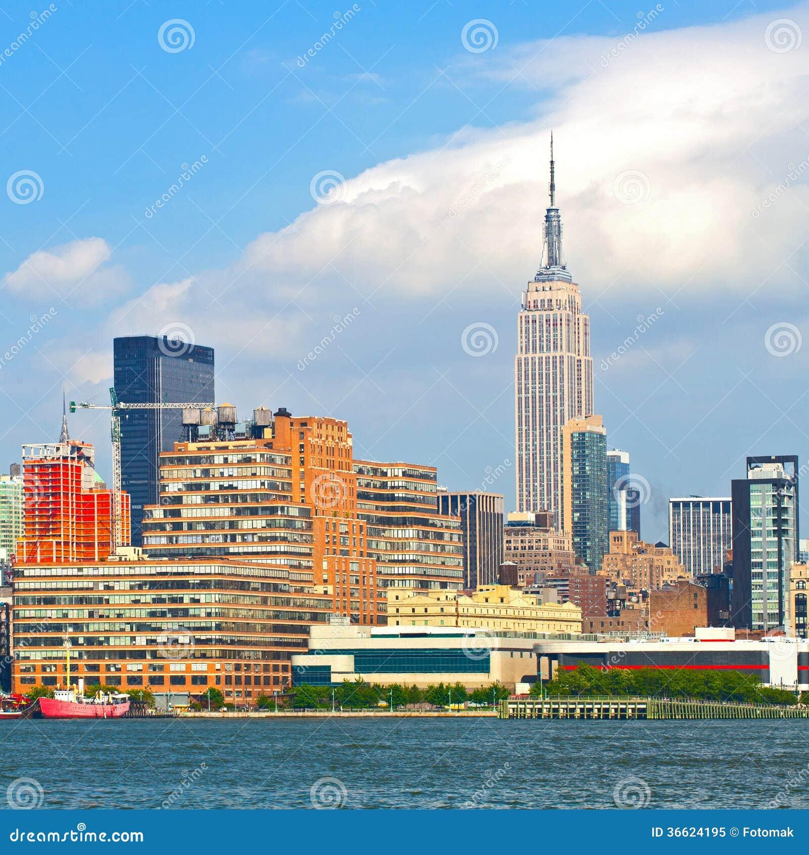 Apartments Downtown Manhattan: New York City, Manhattan Buildings Stock Image