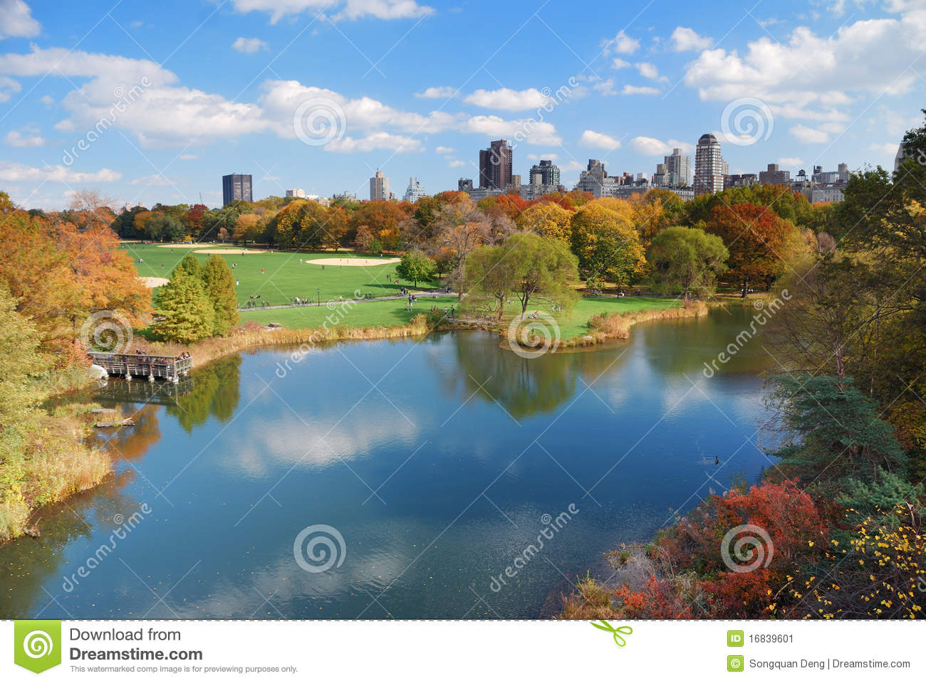 New york city manhattan central park immagine stock for Appartamenti vacanze new york city manhattan
