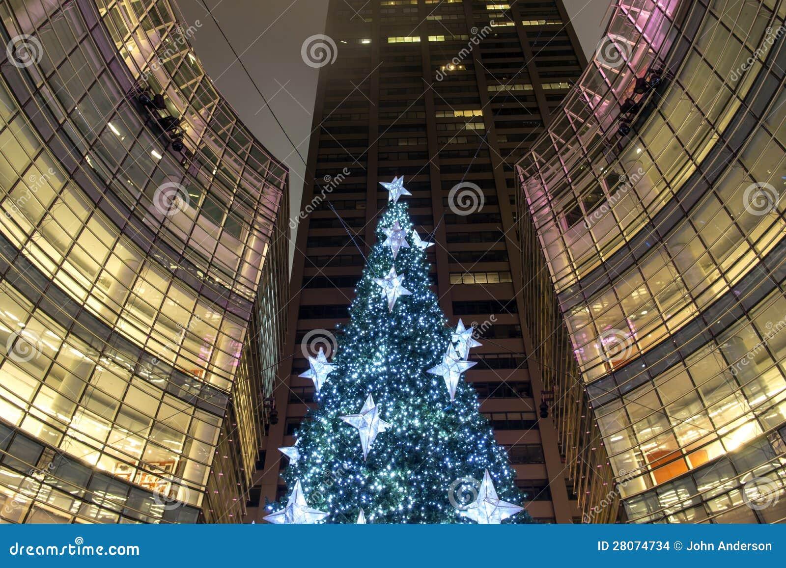 new york city manhattan christmas tree