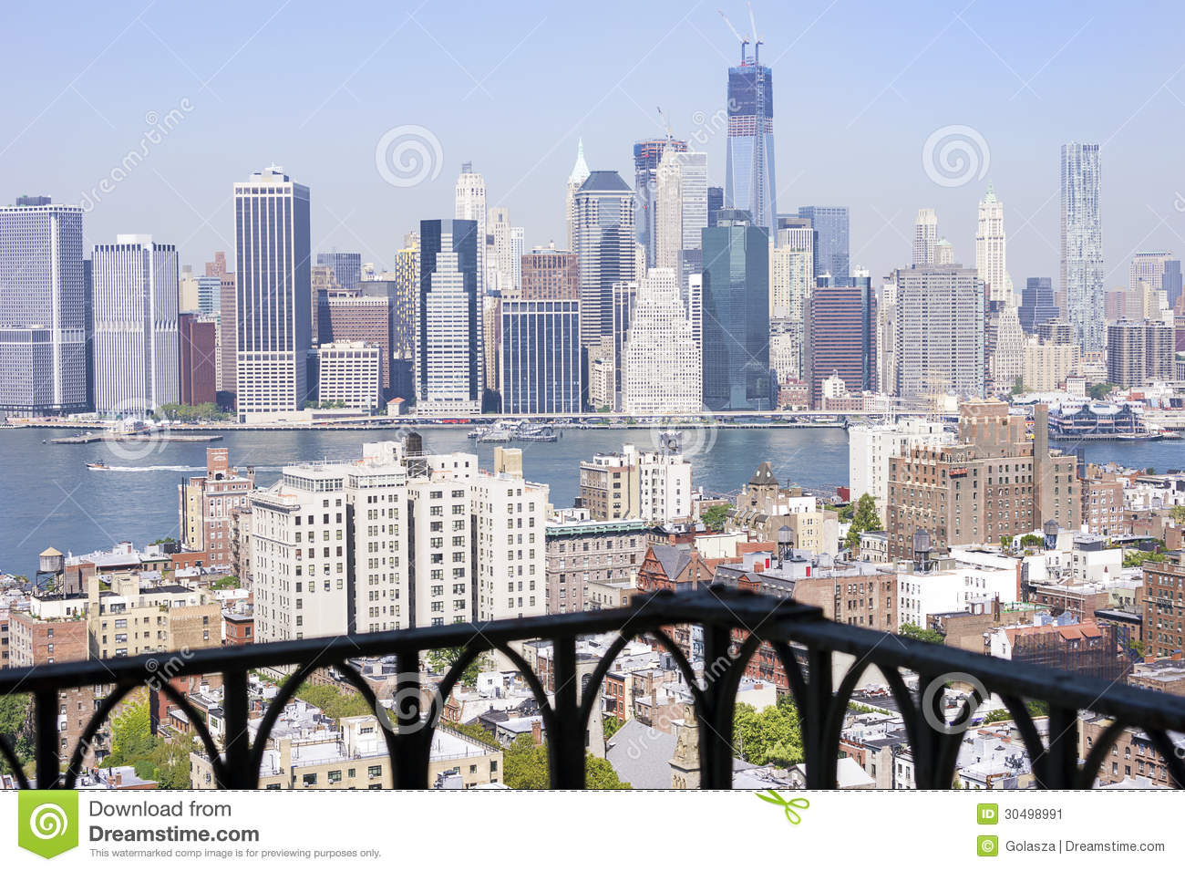 New york city manhattan for New york balcony view