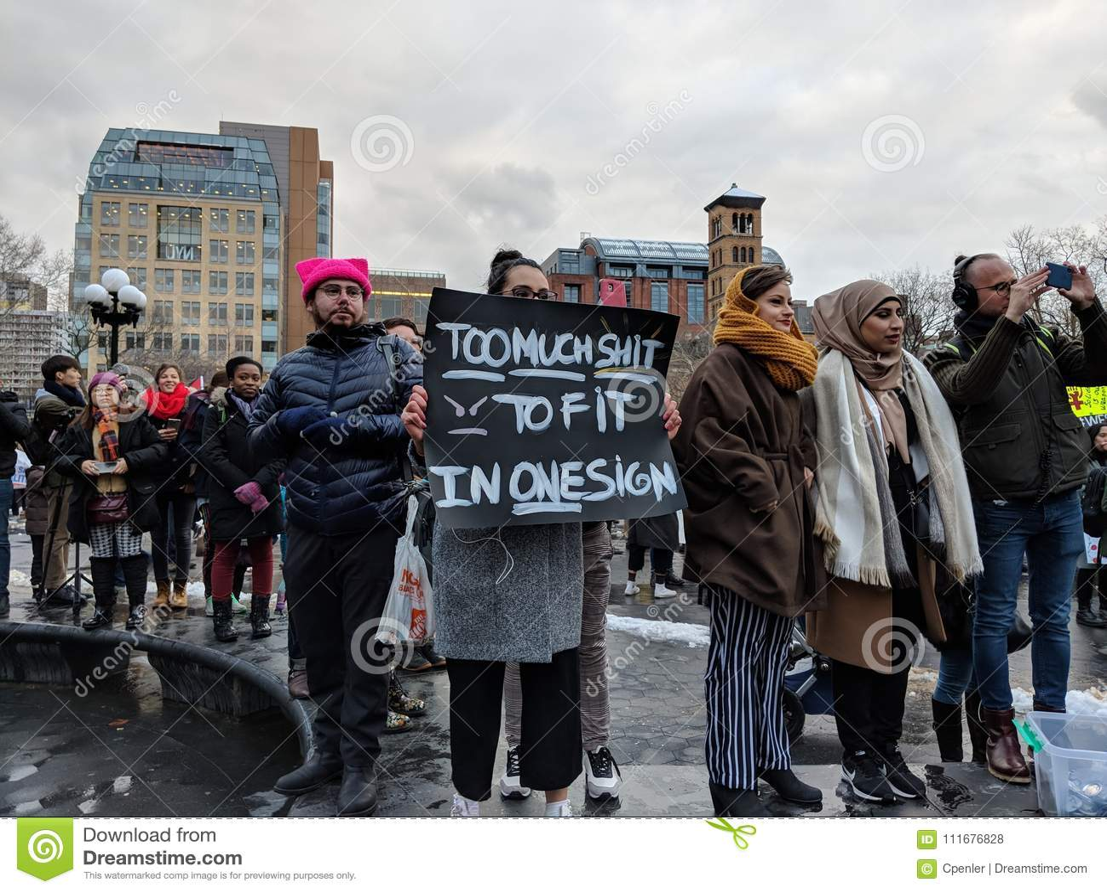 New York City March.