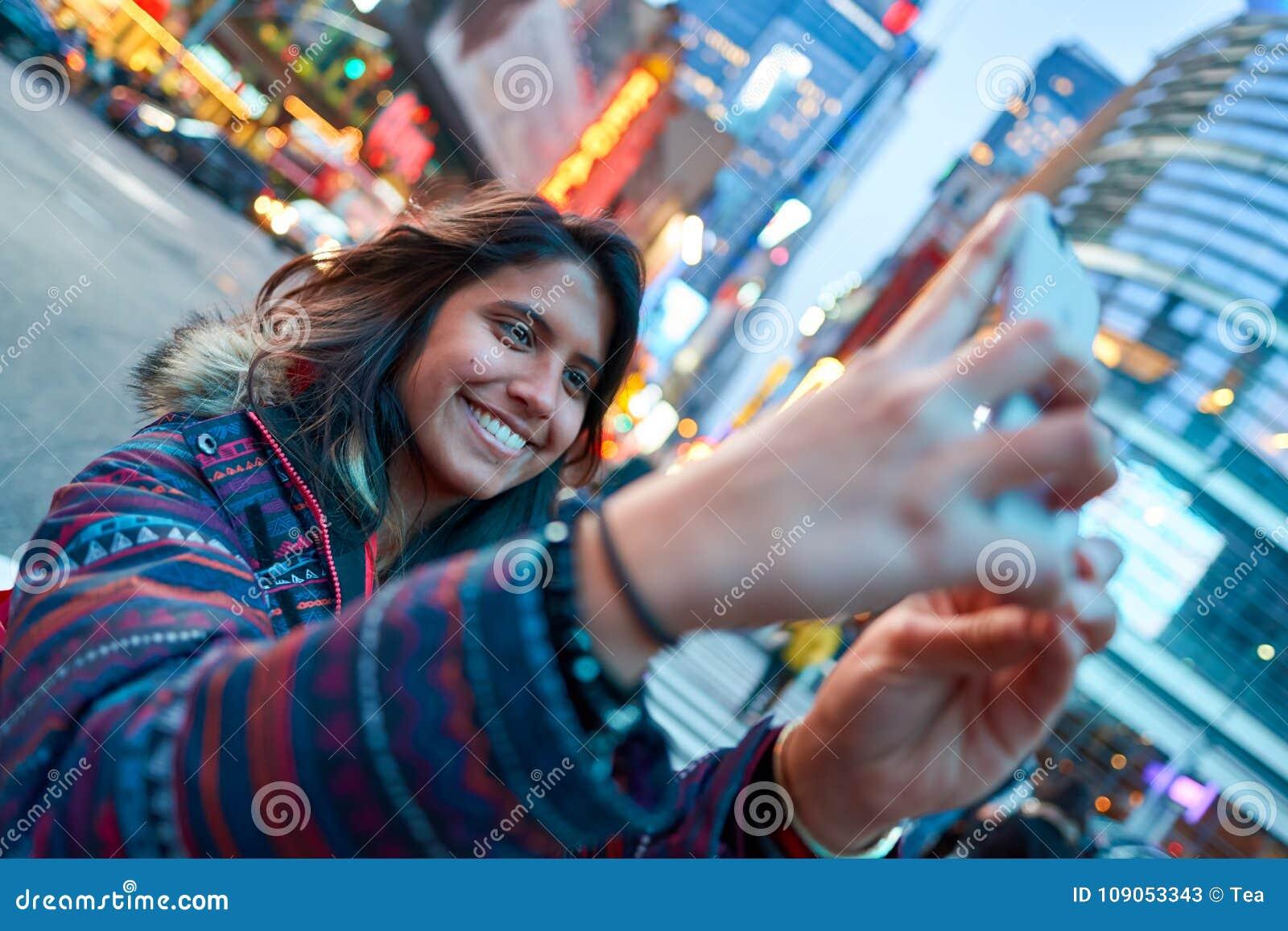 Selfie in New-York