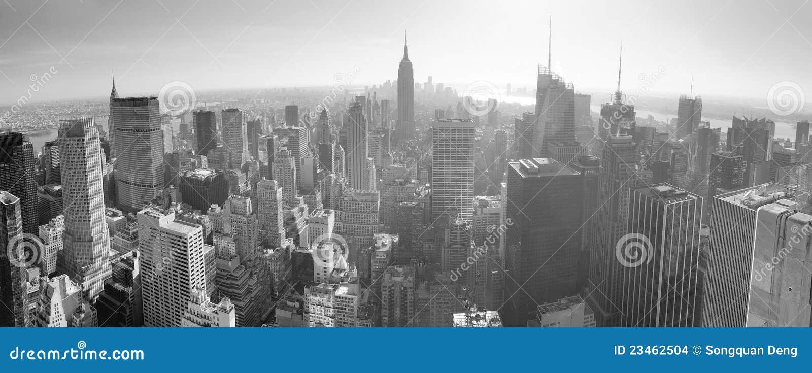 New York City Skyline Black And White Drawing New York City Skyline in Black