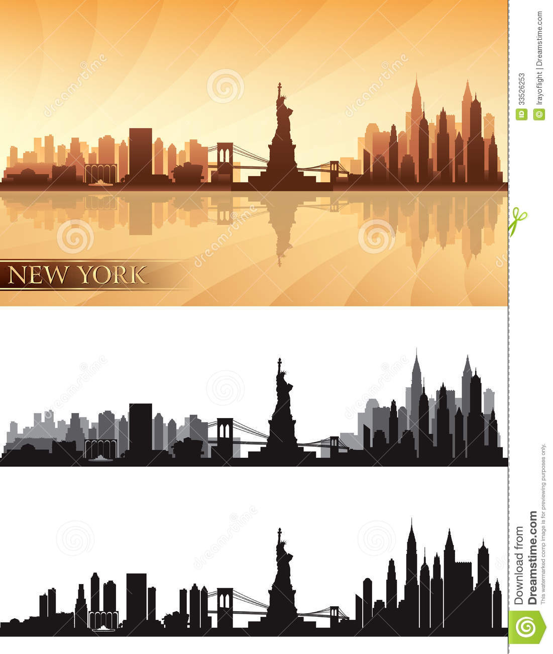 Amazing New York Skyline Wall Art Collection - Wall Art Collections ...
