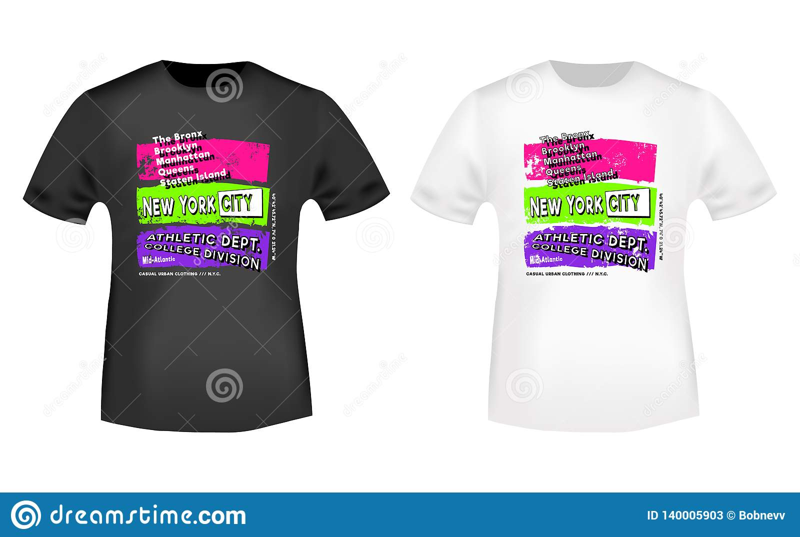 New York City T Shirt Print Stamp Stock Vector Illustration Of Graphic Sport 140005903